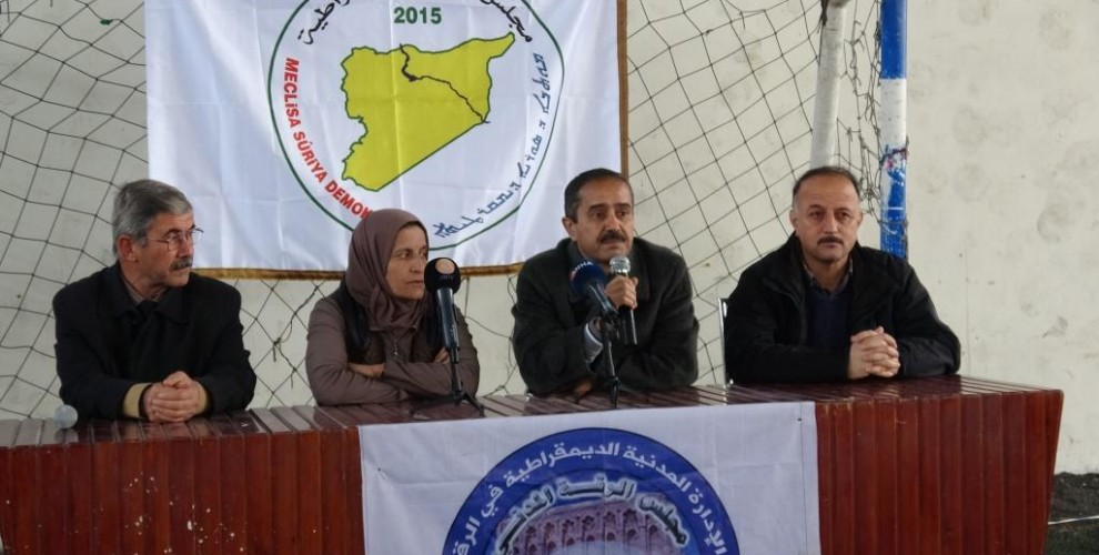 ANF   Raqqa MSD: We want a political solution for Syria