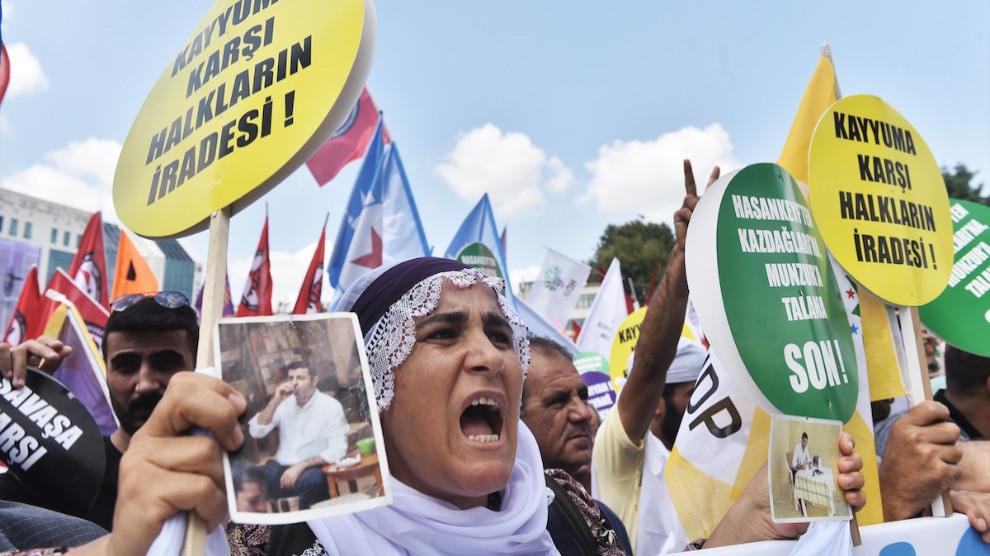 ANF   Istanbul Peace rally: We'll advocate democracy and