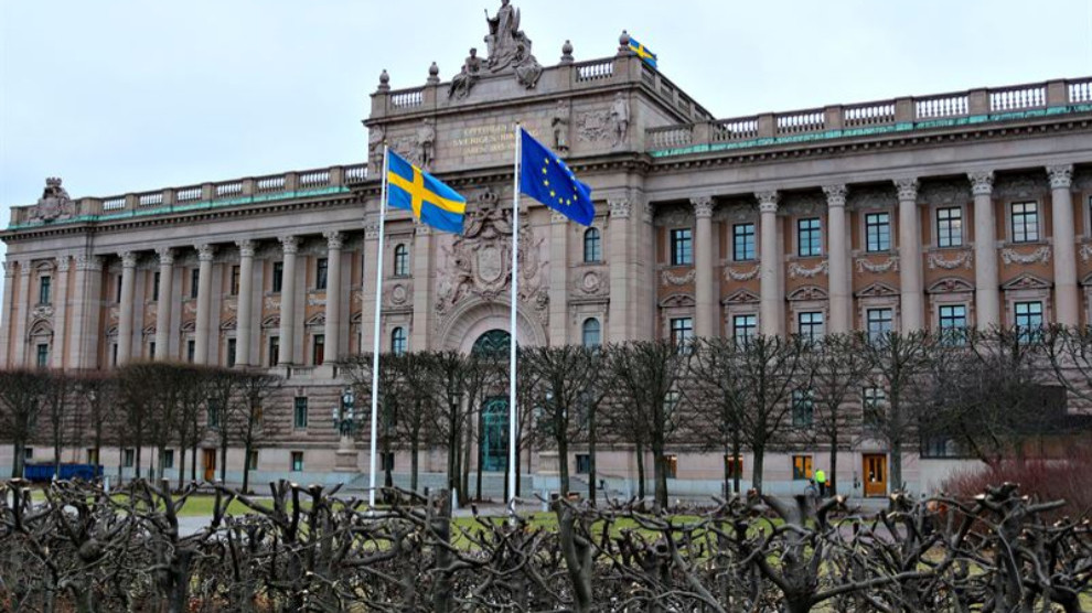ANF | Swedish Parliament to discuss the attacks on the HDP and Kurds