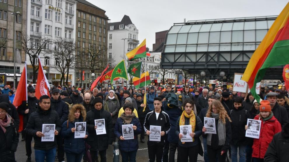 Demonstration In Hamburg